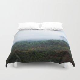 Mount Carmel Forest Duvet Cover