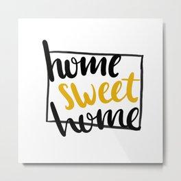 Home Sweet Home Colorado Metal Print