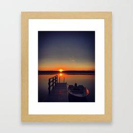 Early morning Framed Art Print