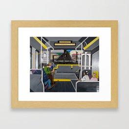 Hooked Framed Art Print