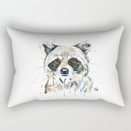 Peekaboo Raccoon Rectangular Pillow
