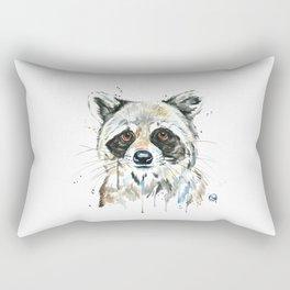 Peekaboo Raccoon Rectangular Pillow