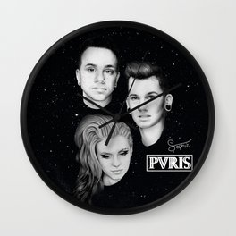 Pvris Wall Clock