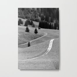 Winding road #2 Metal Print