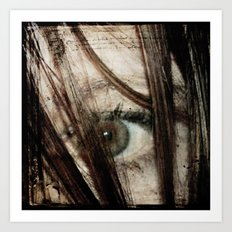 Eye-Dentify Art Print