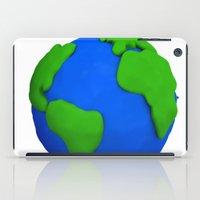 globe iPad Cases featuring Globe by Tassos Kotsiras