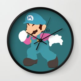 Mario(Smash)Cotton Candy Wall Clock