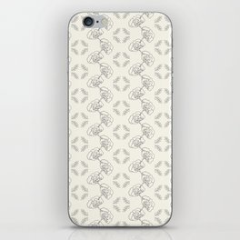 Garden Floral Chain iPhone Skin
