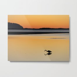 Sunset in Tillamook, Oregon #1 Metal Print