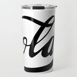 Golden. Travel Mug
