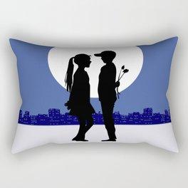 Moonlight promises Rectangular Pillow