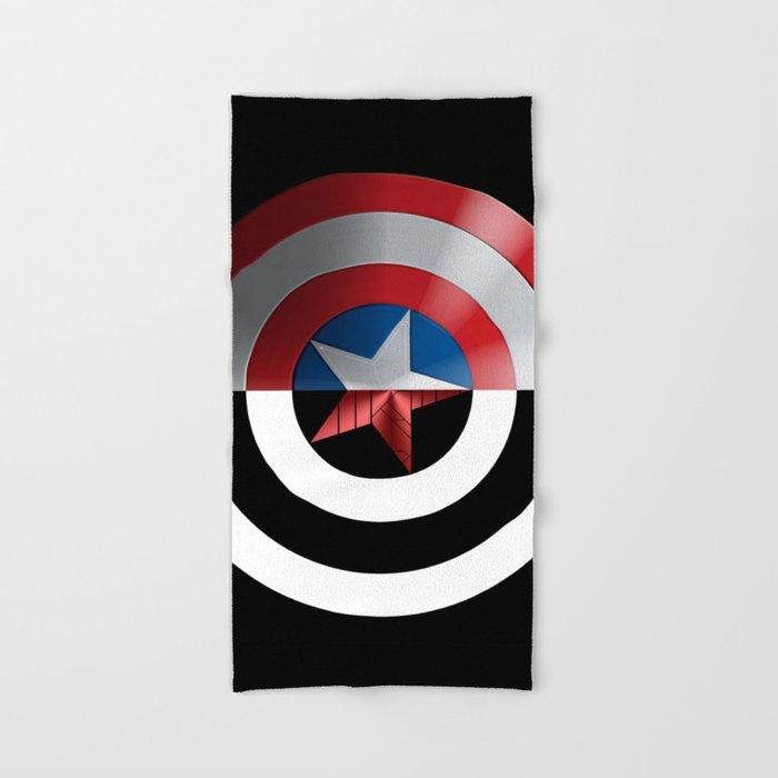 Captain Bucky Winter Soldier Hand Bath Towel By Alabasta Society6