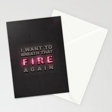 Breathe That Fire Stationery Cards