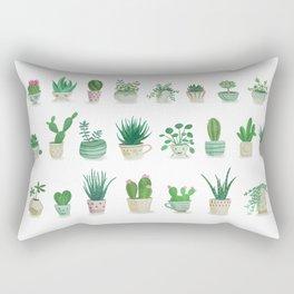 Tiny garden Rectangular Pillow