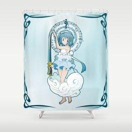 Sayaka Miki - Nouveau edit. Shower Curtain