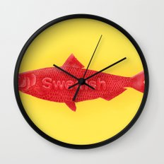 Swedish Fish Wall Clock
