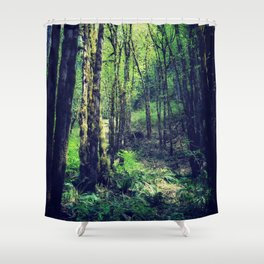 Woodland Way Shower Curtain