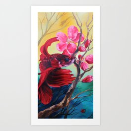 Springtime Beta Art Print