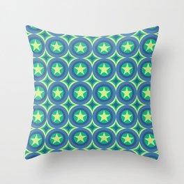 Star Circulating Throw Pillow