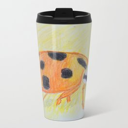 Harlequin Ladybird Travel Mug