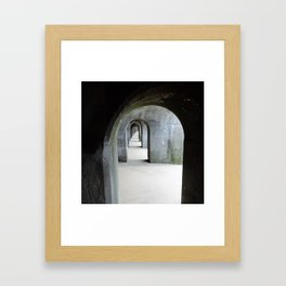 Under The Arches Framed Art Print