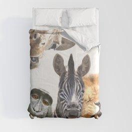 Jungle Animal Friends Comforters