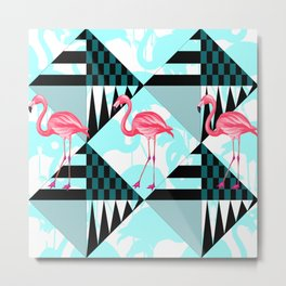 flamingo all days Metal Print