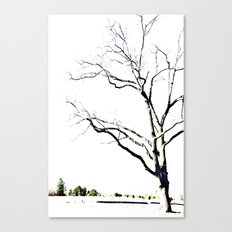 The Etching Canvas Print