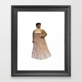 Dress #3 Framed Art Print