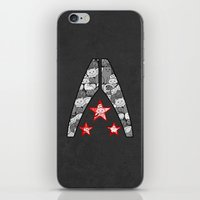 "n7 iPhone & iPod Skins featuring ""My Favorite Things"" Alliance by Helenasia"