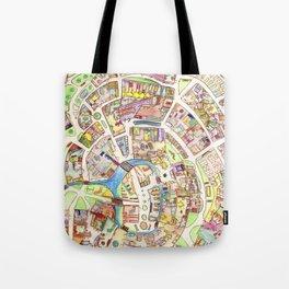 Cityplan Tote Bag