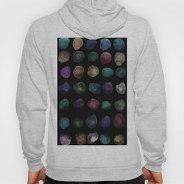Watercolor, watercolour texture, abstract paint stains beautiful black background Hoody