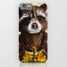 Rocket Raccoon and baby Groot from Guardians of the Galaxy iPhone 6 Slim Case