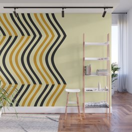 Abstract Shapes Pattern Wall Mural