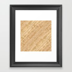 Eucalyptus Wood Framed Art Print