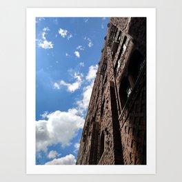Building the Sky Art Print