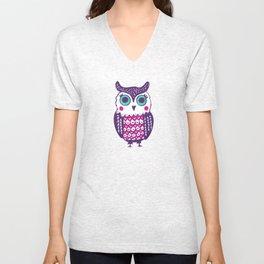 Sweet Owl Unisex V-Neck