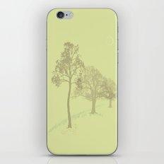 Misty Trees iPhone & iPod Skin
