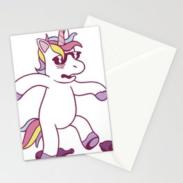 Unicorn Hangover Stationery Cards