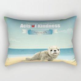 Jeffy The Harbor Seal Rectangular Pillow
