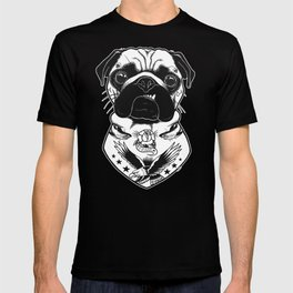 Dog - Tattooed Pug T-shirt