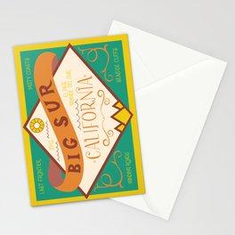 Big Sur Vintage Lettering Stationery Cards