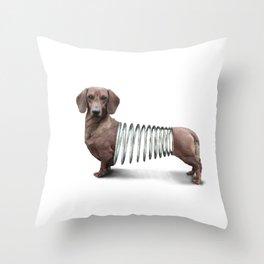 Slinky Dog Throw Pillow
