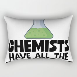 Chemists Have All The Solutions Rectangular Pillow
