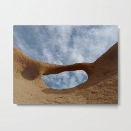 Goblin Valley arch Metal Print