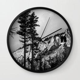 Mammoth Lakes 3 Wall Clock