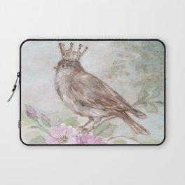 French Crown and Feathers Laptop Sleeve