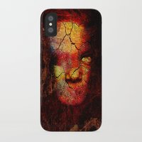 zombie iPhone & iPod Cases featuring Zombie by Joe Ganech