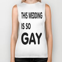 humor Biker Tanks featuring Gay Humor by quality products