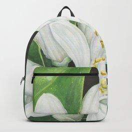 Watercolor Orange Blossom Backpack